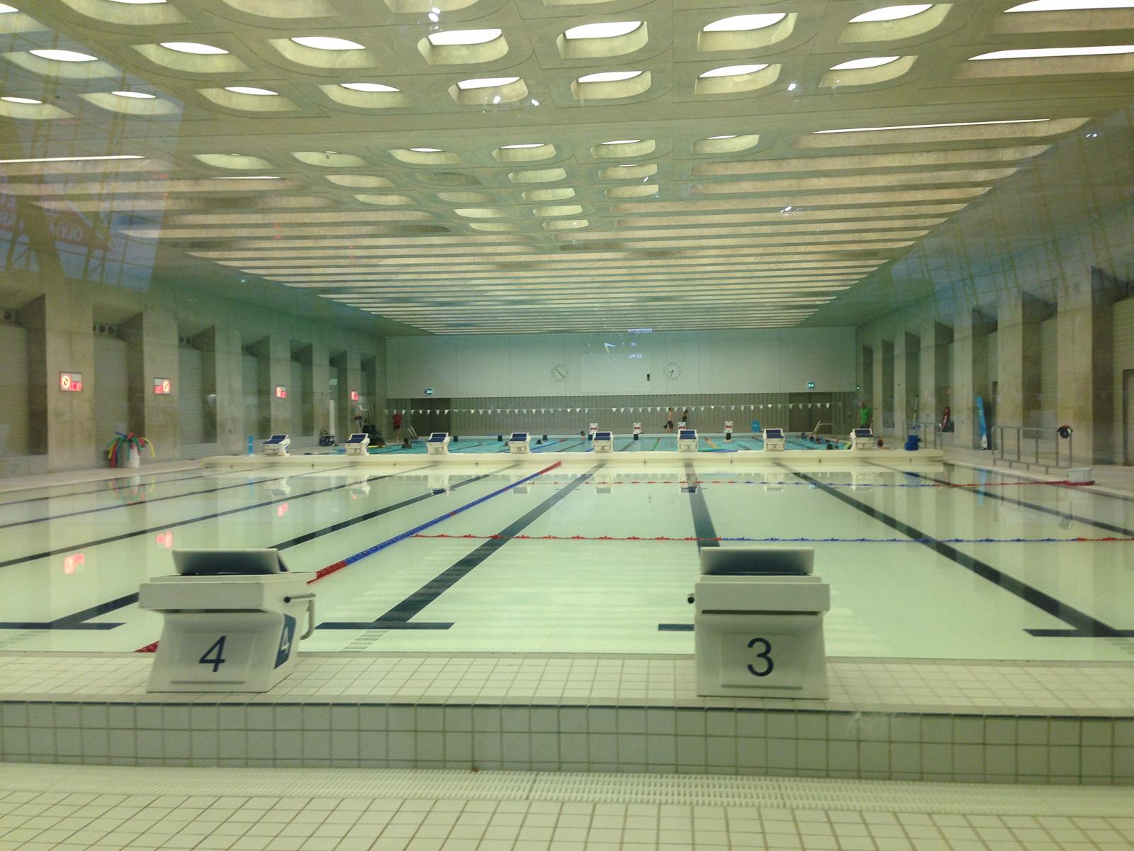 London Aquatics basen treningowy