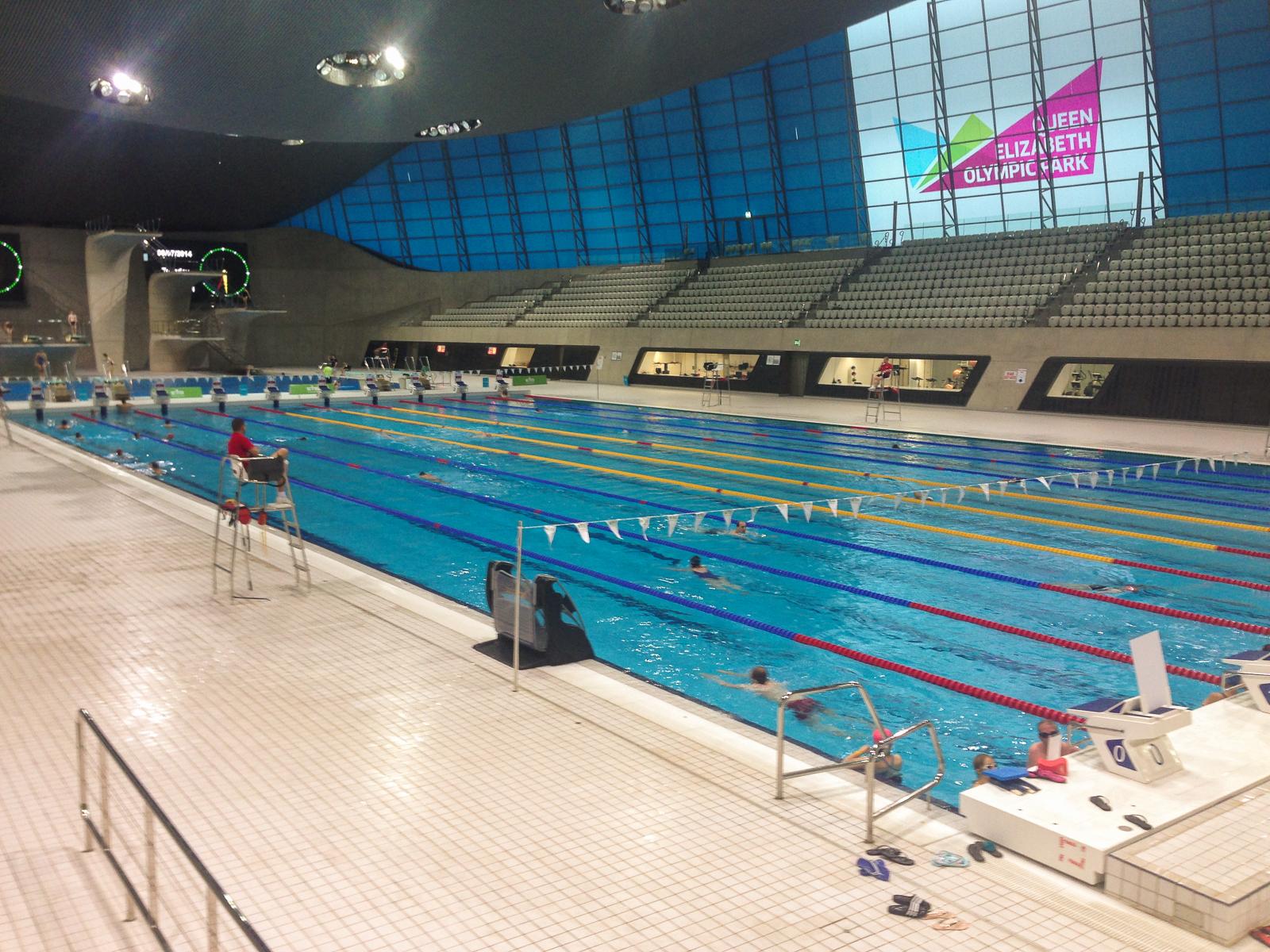 Główny basen w Londynie